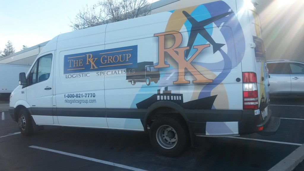 Long time customer RK Group one our favorite in the fleet. It is nice when a customer approves a unique sign design.